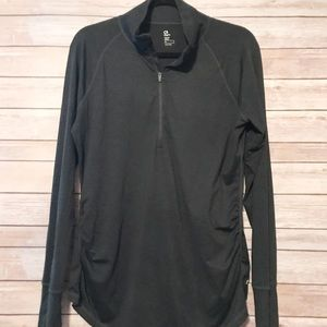 Gap Maternity 1/2 zip athletic pull over
